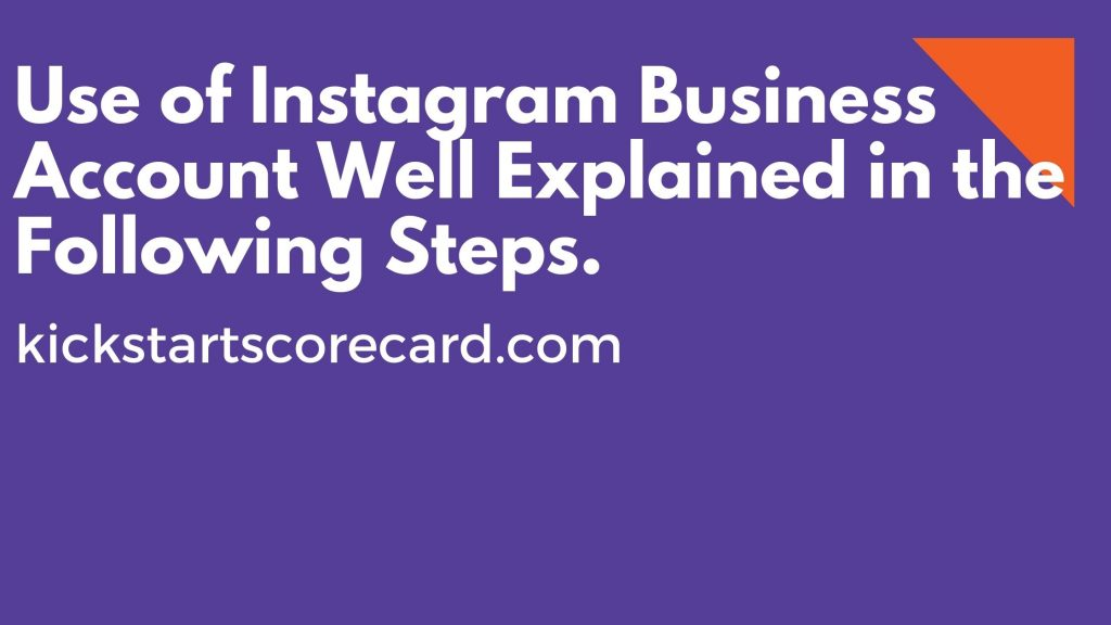 Instagram Business Use