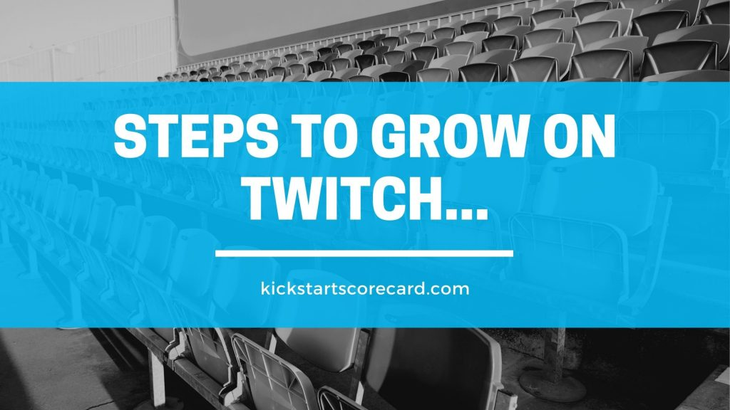 steps for twitch